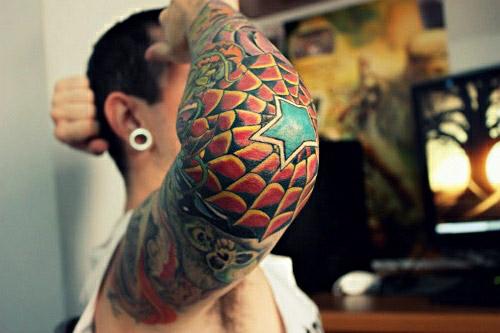 Татуировка паутина — Все про татуировки и их виды